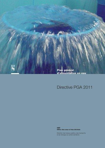 Directive PGA 2011