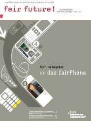 fair future - Erklärung von Bern