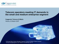 Telecom operators meeting IT demands in the small and medium ...