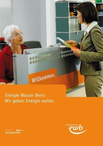 Als PDF herunterladen - Energie Wasser Bern