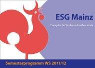 ESG Mainz | Evangelische Studierenden Gemeinde ...