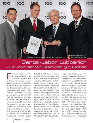 dental-Labor Lubberich - Caroline Berger Home