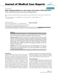 Oral melanoacanthoma: a case report and review of the literature