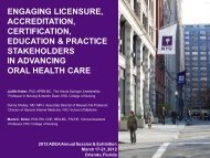 Engaging Licensure- Accreditation- Certification- Education