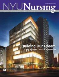 Building our dream - NYU College of Nursing - New York University