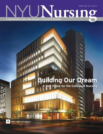 Building our dream - NYU College of Nursing - New York University