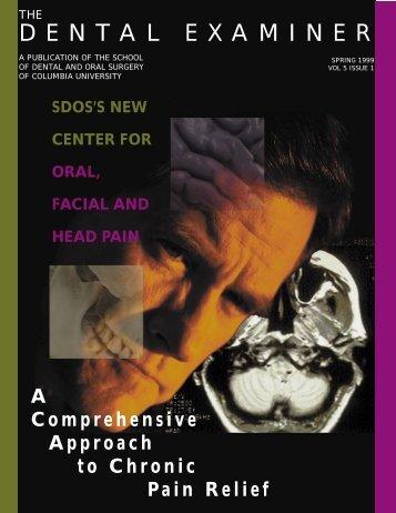 Dental Examiner - Columbia University