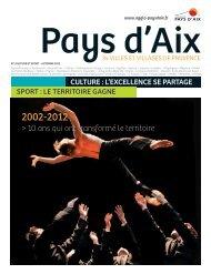 Automne 2012 - Communauté du Pays d'Aix