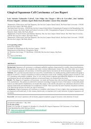 Gingival Squamous Cell Carcinoma: a Case Report - Journal of Oral ...