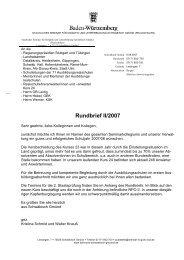 Rundbrief II/2007
