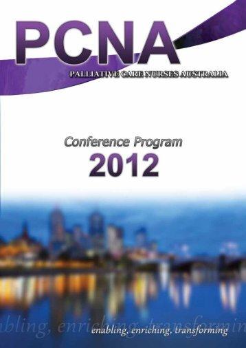 Final Program - Palliative Care Nurses Australia