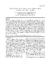 Bifurcation diagramS for a diScrete dynamical SyStem model of ...