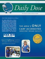 May 2012 Daily Dose The - Doctors Hospital