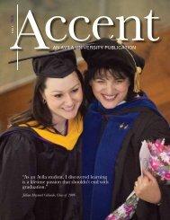"""As an Avila student, I discovered learning is a ... - Avila University"