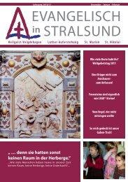 Gemeindebrief im Download - Pommersche Evangelische Kirche