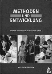 Methoden und Entwicklung Teil 1.pdf - Pädagogische Hochschule ...