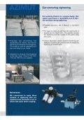 AZIMUT Car-centering tightening Flexible – autonomous - Page 2