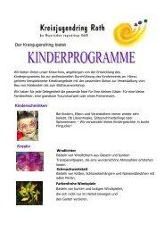 Kinderprogramme für Firmenevents, Familienfeiern, Hochzeiten