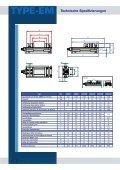 TYPE - EM Technische Spezifizierungen - Page 2
