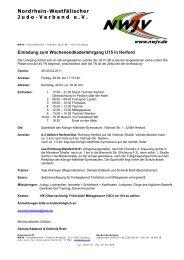 Einladung Kaderwochenendlehrgang Ostern 2011.pdf - Nordrhein ...