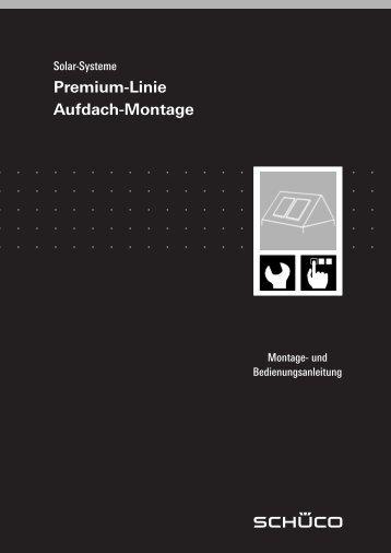 Premium-Linie Aufdach-Montage - Enviko