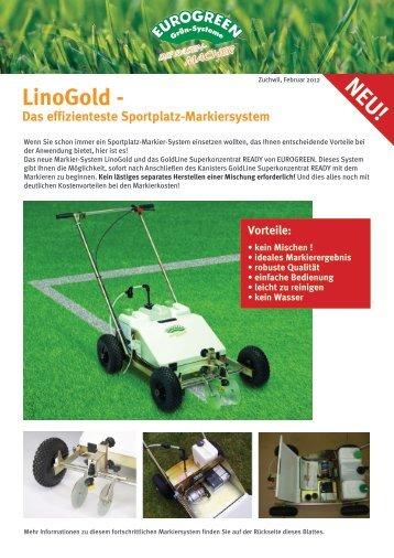 LinoGold - Das effizienteste Sportplatz ... - EUROGREEN.ch