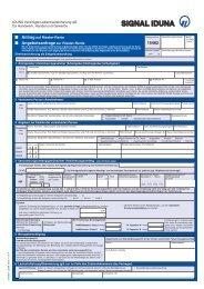Antrag/Angebotsanfrage Riester-Rente als Direktversicherung [Fo.-Nr