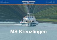 MS Kreuzlingen - event & more