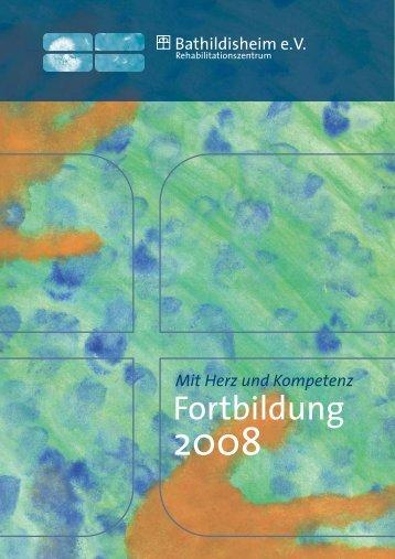 Fortbildung - Rehazentrum Bathildisheim