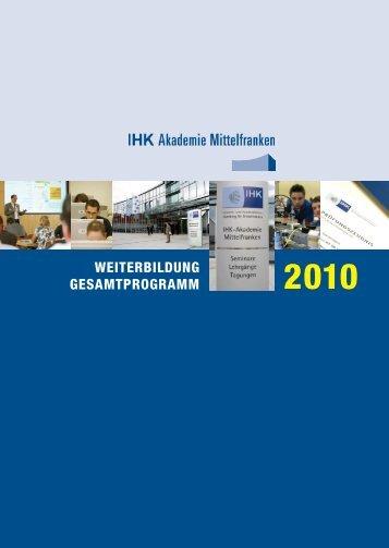 betriebswirtschaft - IHK Nürnberg für Mittelfranken