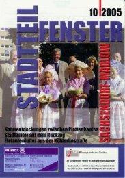 Nr. 10/2005 - Stadtteilzeitung - NiPP