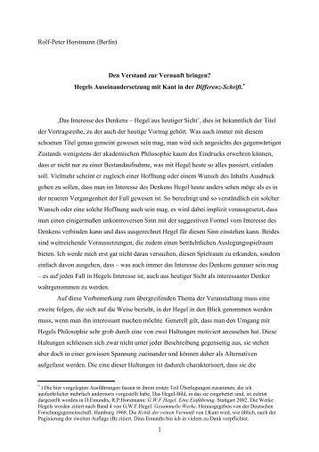 Hegel, Antinomie, Anschauung (Jena)