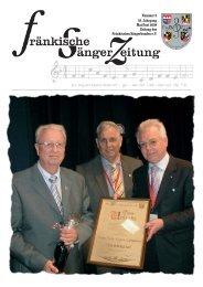 Nummer 3 55. Jahrgang Mai/Juni 2008 Zeitung - Fränkischer ...