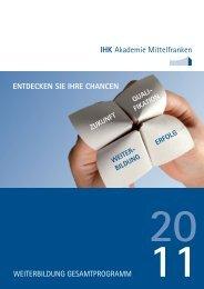 IHK Akademie Mittelfranken - Meisterschulen