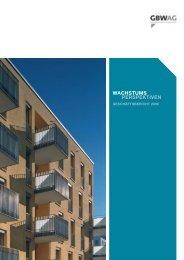 Geschäftsbericht 2006 - GBW Gruppe