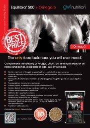A5 Equilibra 500 + Omega 3 Flyer - GWF Nutrition