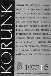 Június - Korunk