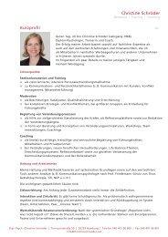 PROFIL CS_COACH_9-09 - Christine Schröder