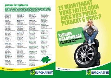 Brochure Service Gardiennage - Euromaster Suisse