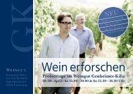 Wein erforschen - Weingut Genheimer-Kiltz