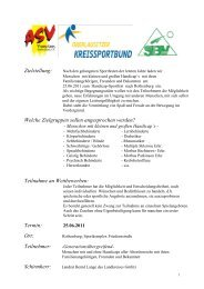 Zielstellung - Oberlausitzer Kreissportbund