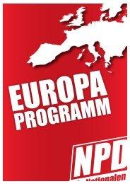 Das Europaprogramm als pdf - NPD