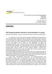 FAM Pressemitteilung AK Buchhandel 17.3.11 - Bundesverband ...