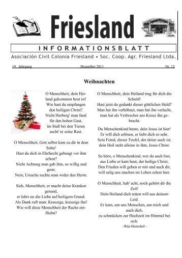Weihnachten - Friesland