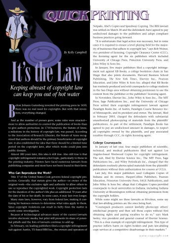 Copyright law and the doctoral dissertation