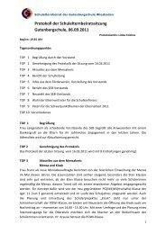 SEB-Protokoll 06.09.2011 - Gutenbergschule Wiesbaden