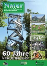 60 Jahre Institut für Naturschutz