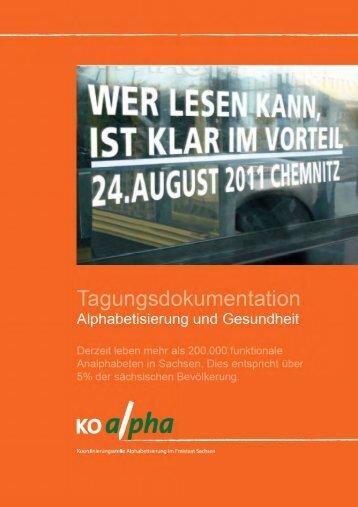 lw. - Koordinierungsstelle Alphabetisierung im Freistaat Sachsen