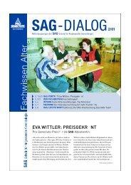 SAG - bei Pro Senectute Schweiz