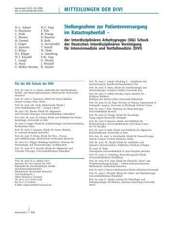 pdf download - Deutsche Interdisziplinäre Vereinigung für Intensiv